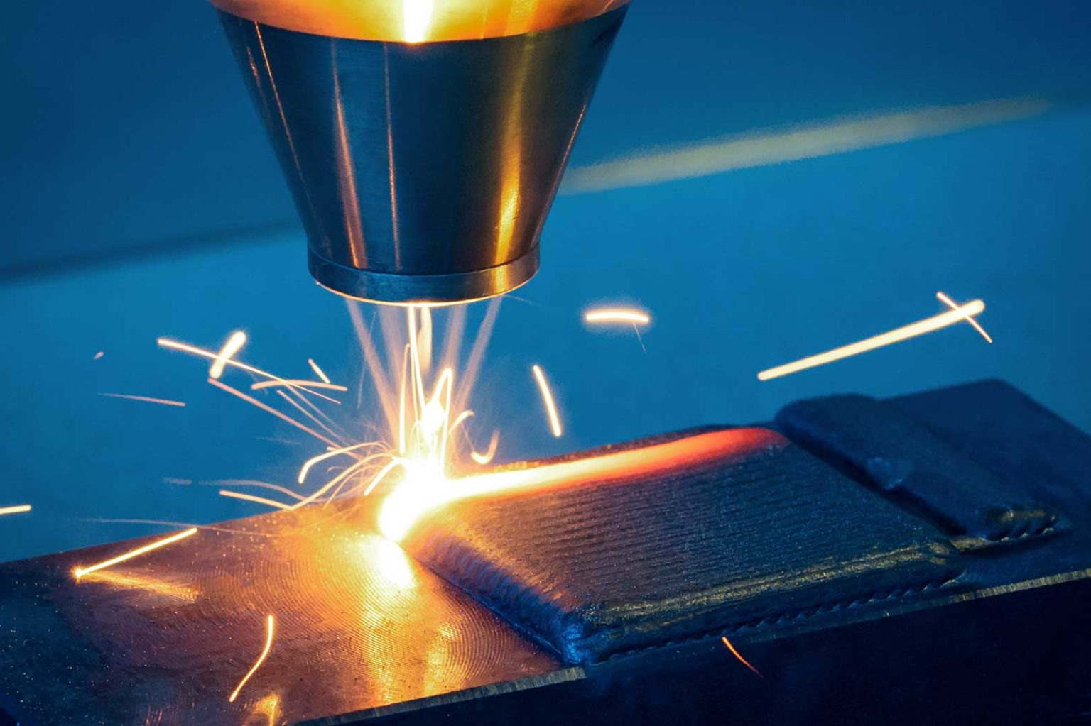 Deposizione diretta di polveri metalliche tramite laser cladding